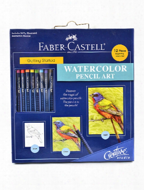 Creative Studio Getting Started Watercolor Pencil Art Set Watercolor Pencil Set