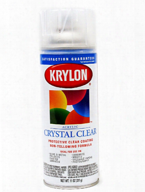 Crystal Clear Universal Coating 11 Oz.