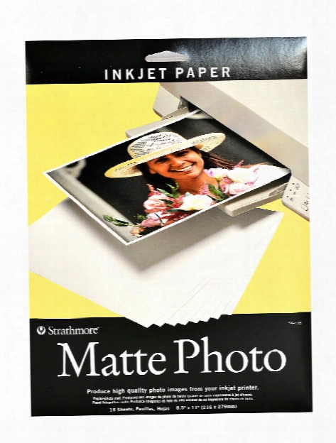 Digital Photo Paper Glossy 8.5 In. X 11 In. Pack Of 15