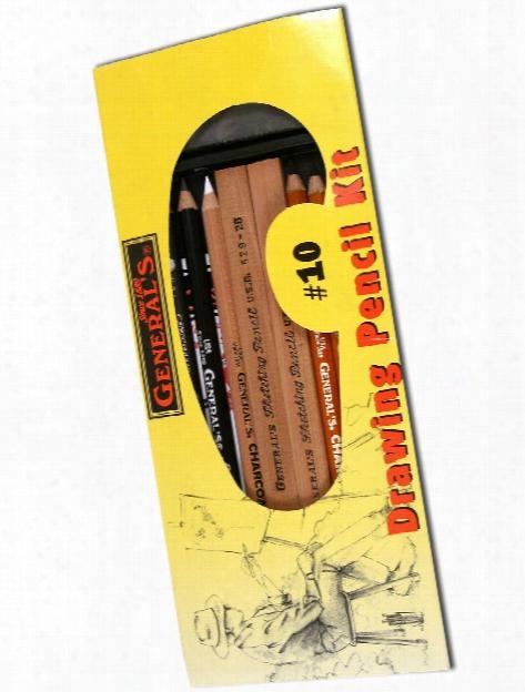 Drawing Pencil Kit #10 Each