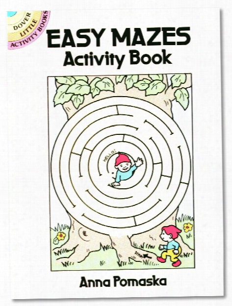 Easy Mazes Activity Work Easy Mazes Activity Book