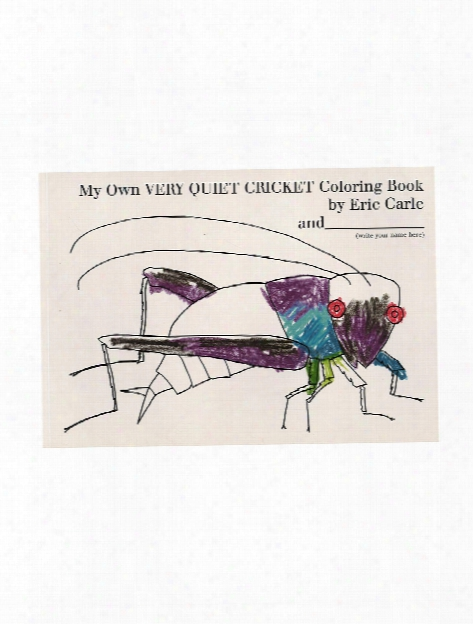 Eric Carle's Very Series Coloring Book My Own Very Busy Spider