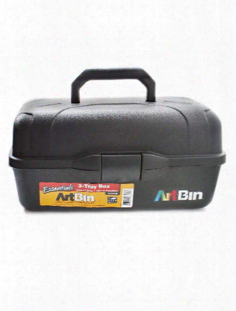 Essentials 3-tray Box Black
