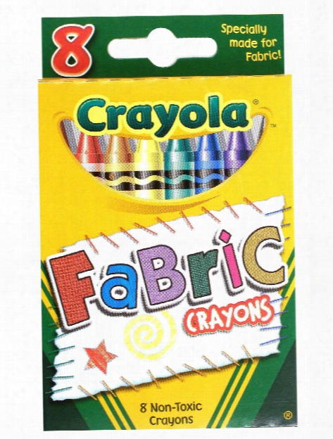 Fabric Crayons Box Of 8