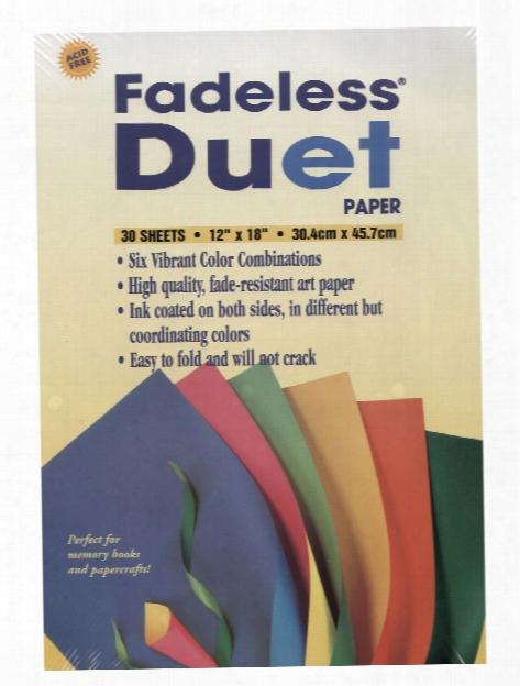 Fadeless Duet Paper 30 Sheets