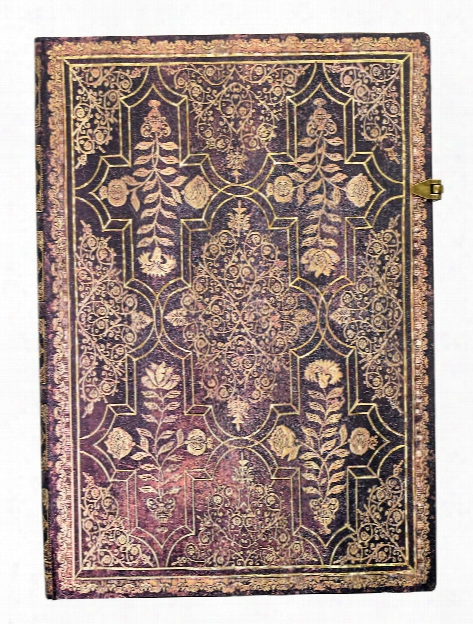 Fall Filigree Journals Mahogany Grande, 8 1 4 In. X 11 3 4 In. 128 Pages, Unlined