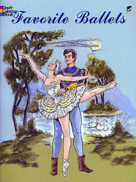 Favorite Ballets Coloring Book Favorite Ballets Coloring Book