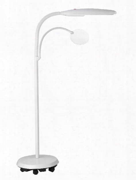 Floorstanding Craft Magnifying Lamp Lamp With Magnifier