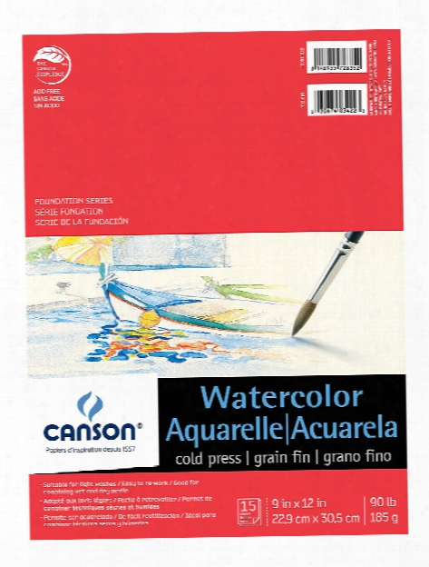 Foundation Watercolor Pad 9 In. X 12 In.