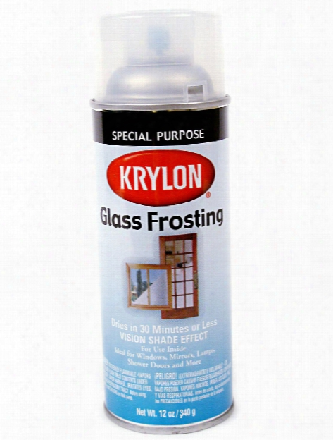 Frosted Glass Finish 12 Oz.