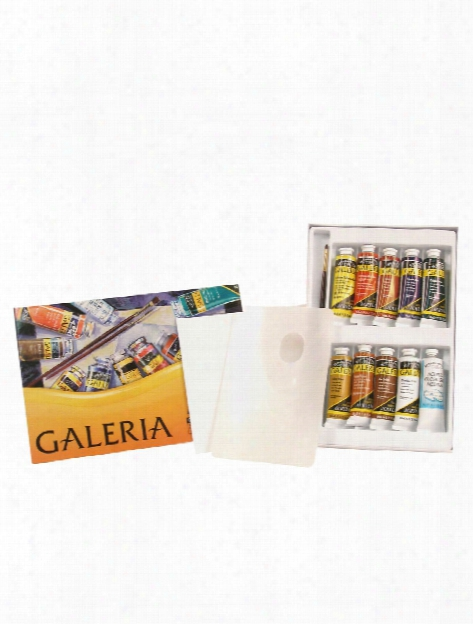 Galeria Acrylic Colour Complete Set Each