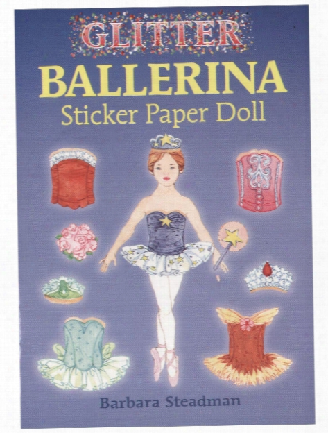 Glitter Ballerina Sticker Paper Doll Glitter Ballerina Sticker Paper Doll