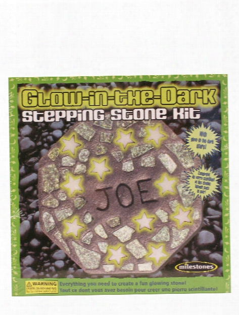 Glow-in-the-dark Stepping Stone Kit Glow-in-the-dark Stepping Stone Kit