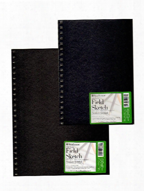 Hardcover Recycled Field Sketch Books 12 In. X 9 In.