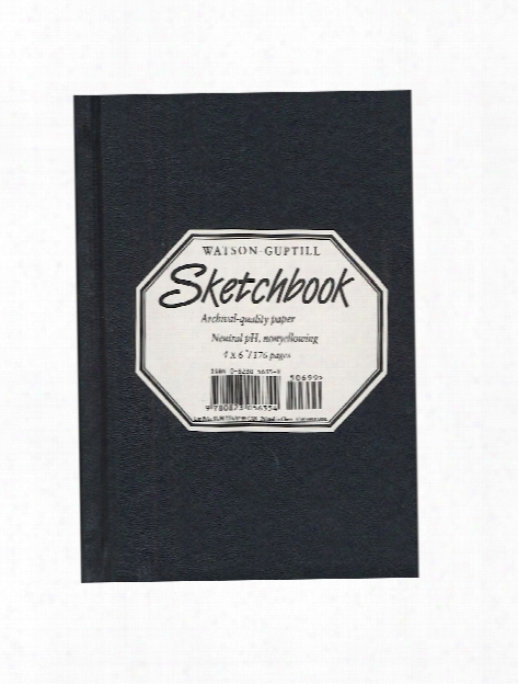 Hardcover Sketchbooks 8 1 4 In. X 11 In. Black Lizard