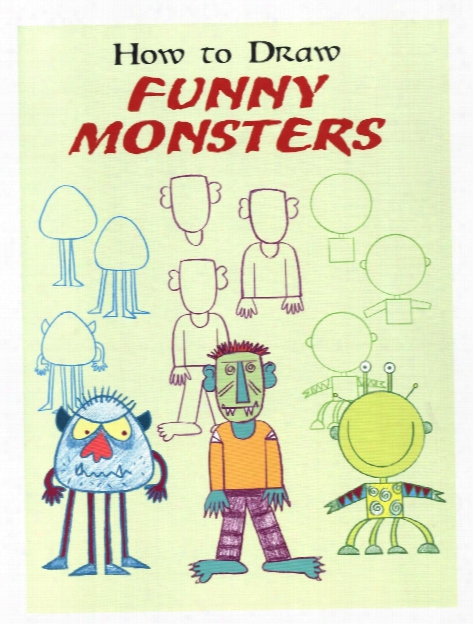 How To Draw Funny Monsters  How To Draw Funny Monsters