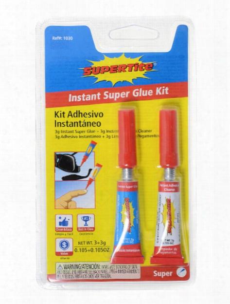 Instant Super Glue 3 G Each