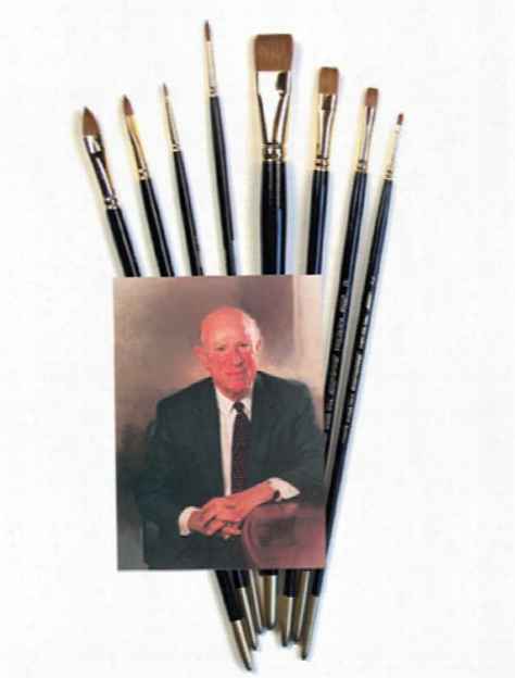 John Sanden White Bristle Brush Sets Beginner Collection