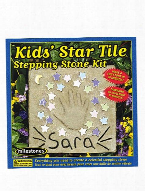 Kids' Star Tile Stepping Stone Kit Star Tile Stepping Stone Kit
