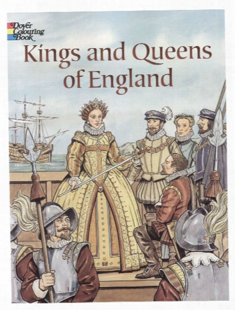 Kings And Queens Of England Coloring Book Kings And Queens Of England Coloring Book