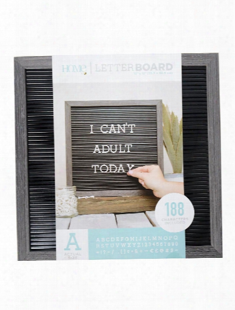Letter Board Set 12 In. X 12 In.