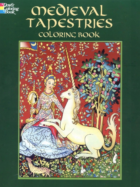 Medieval Tapestries Coloring Book Medieval Tapestries