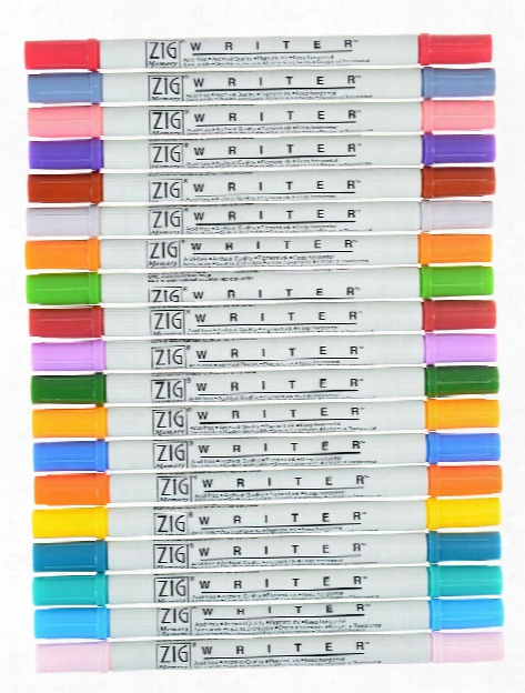 Memory System Writer Dual-tip Markers Pure Black