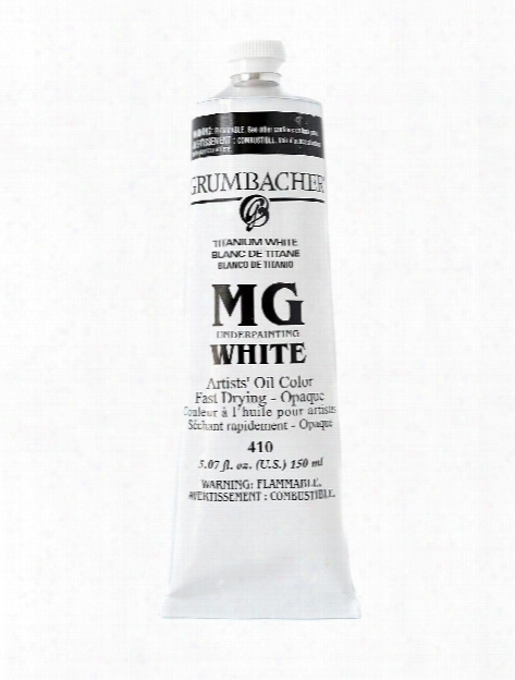 Mg Underpainting White 150 Ml