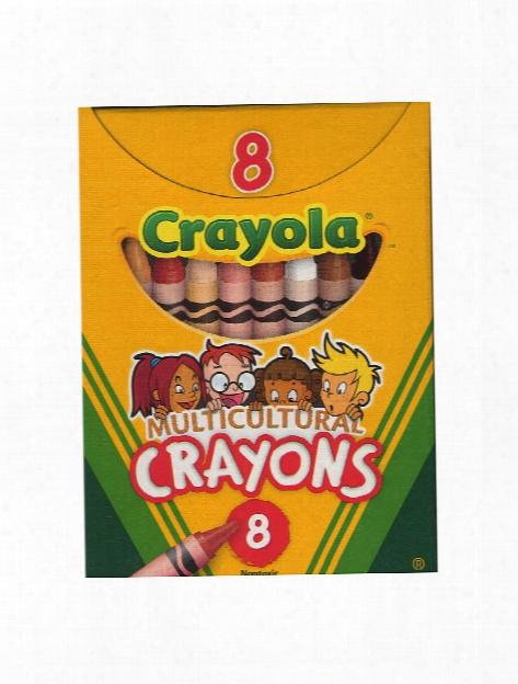 Multicultural Crayons Regular Box Of 8