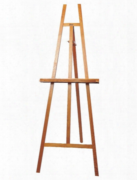 Museum Wooden Easel Natural Wood Easel