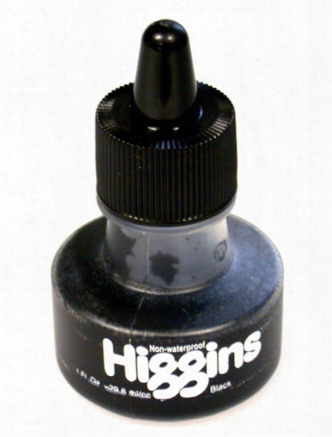 Non-waterproof Black Ink 1 Oz.