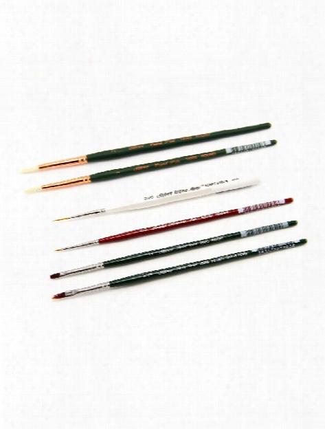 Peggy Harris Decorative Painting Brush Sets 5 Brush Ultra Fur Set