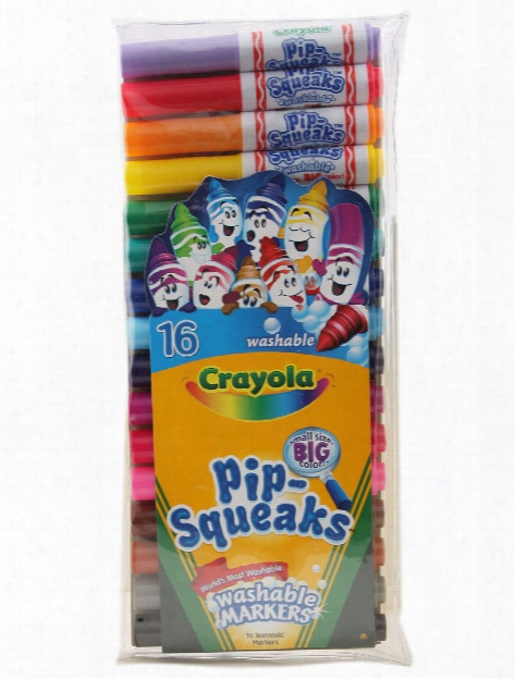 Pip-squeaks Markers Set Of 16