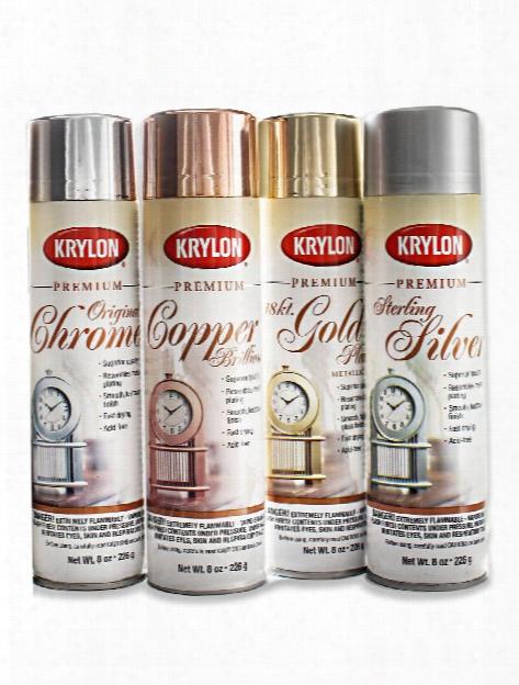 Premium Metallic Spray Paint Original Chrome