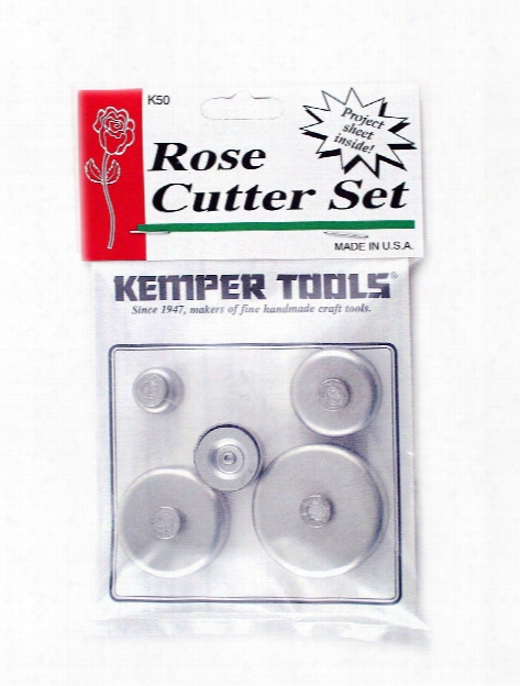 Rose Cutter Set Set Of 5