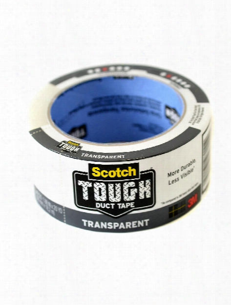 Scotch Transparent Duct Tape 1.88 In. X 20 Yd. Roll
