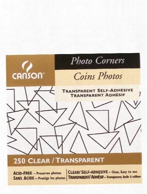 Self-adhesive Acid-free Photo Corners Black