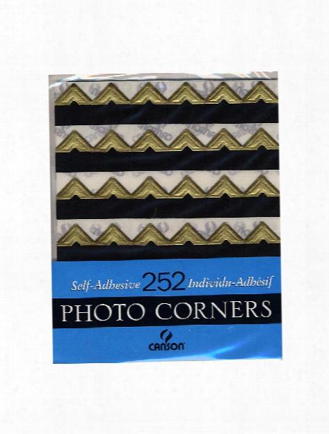 Self- Adhesive Photo Corners Black