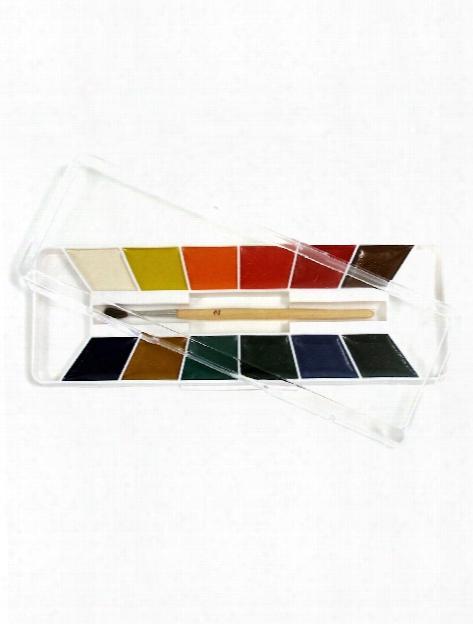 Semi-moist Watercolors Set Of 8