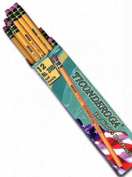 The Original Ticonderoga Pencil No. 2 Soft