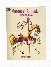 Carousel Animals Coloring Book Carousel Animals Coloring Book