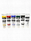 Classic 6 Heavy Body Acrylic Color set of 6