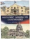 Historic American Landmarks Coloring Book Historic American Landmarks Coloring Book