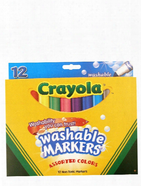Washable Markers - Assorted Colors Fine Line
