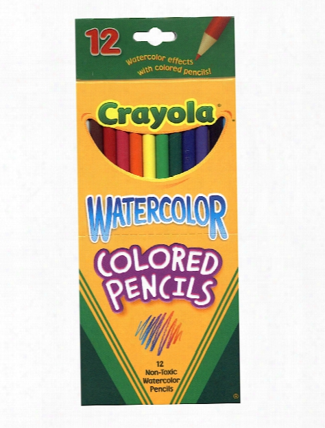 Watercolor Colored Pencils Box Of 24