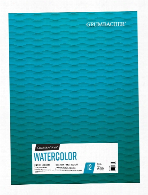 Watercolor Pads 9 In. X 12 In. 12 Sheets