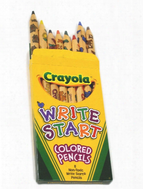 Write Start Colored Pencils Box Of 8