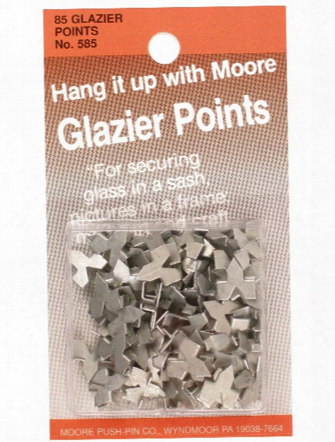 #7 Glazier Points Pack Of 85