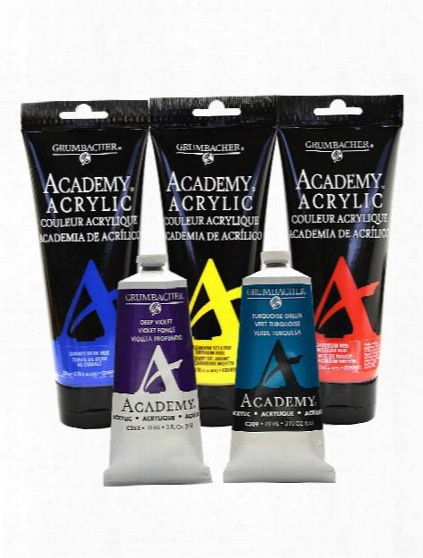 Academy Acrylic Colors Rw Umber 3 Oz. (90 Ml)