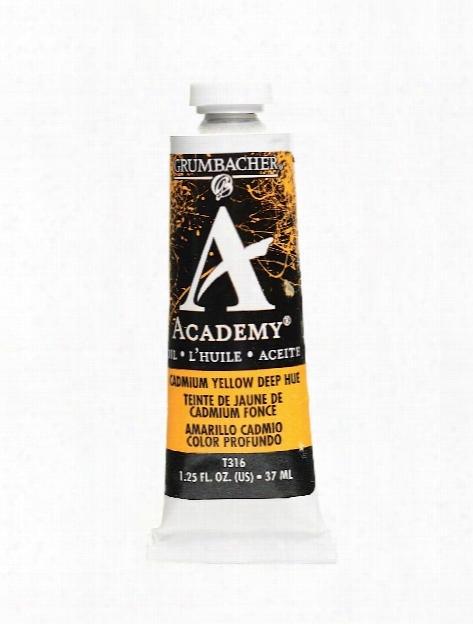 Academy Oil Colors Cadmium Red Medium Hue 1.25 Oz.